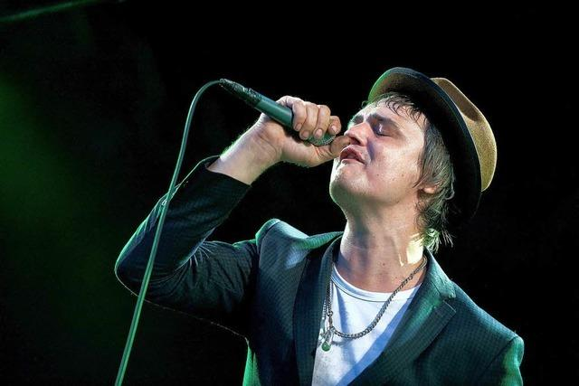 Babyshambles in Lörrach mit Pete Doherty