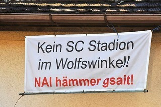 """Stadiondebatte: Bürgerinitiative """"Pro Wolfswinkel"""" engagiert Rechtsbeistand"""