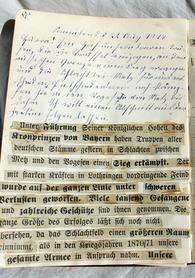 """""""Muschi strickt fürs Rote Kreuz graue Strümpfe"""" - Badische Zeitung TICKET"""