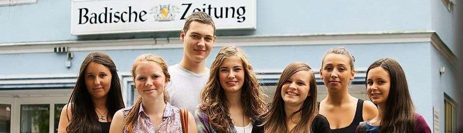 Ein starkes Reporterteam mit jugendlichem Elan f�r die Lahrer BZ