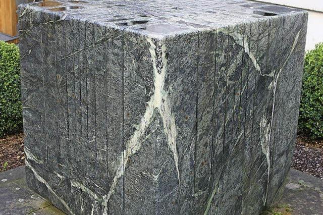 SKULPTUREN IN LAHR: Ein Stein, der klingt