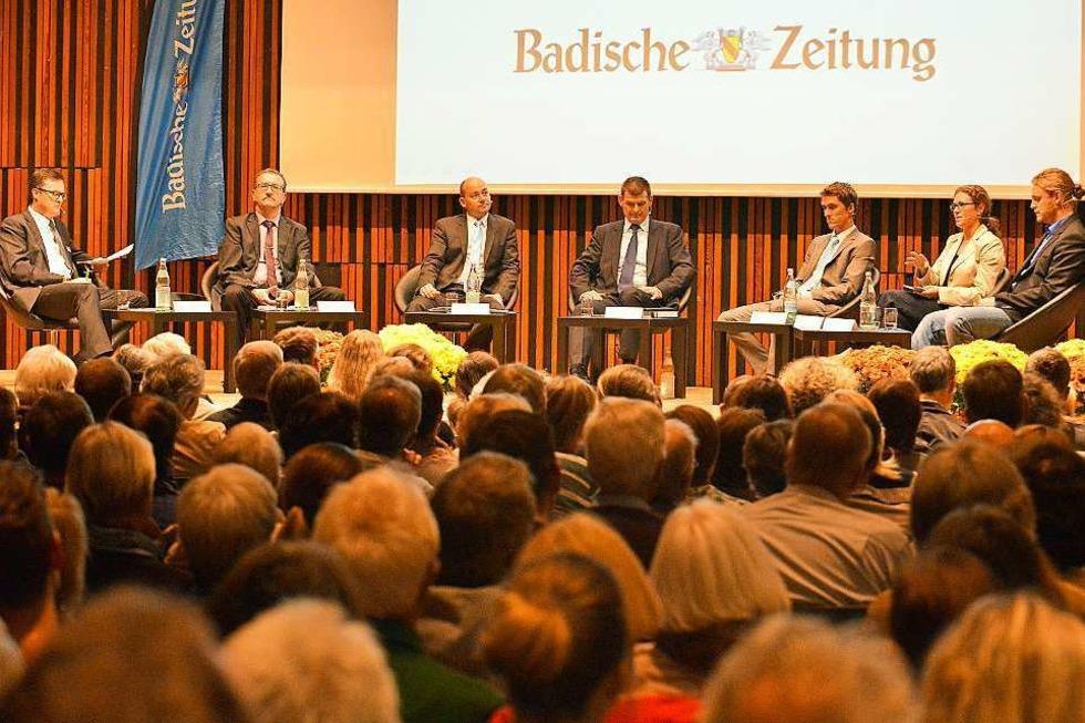 Was sagen die Bürgermeister-Kandidaten zu den wichtigsten Themen - Badische Zeitung TICKET