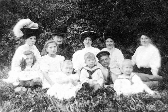 Familienfotos im Wandel der Zeit