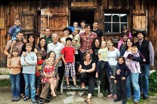 Das Glück, von Kindern umgeben zu sein