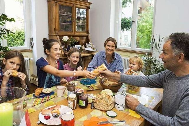 Eine Familie mit deutsch-französischen Wurzeln