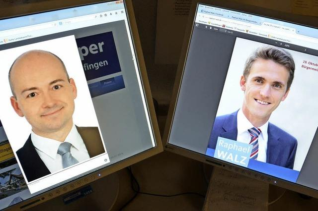 Wie präsentieren sich die Bürgermeisterkandidaten im Internet?