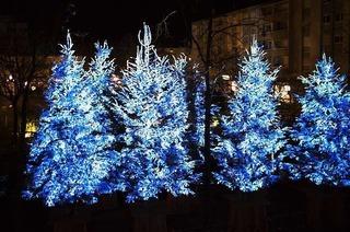 Blaue Weihnachten in Guebwiller