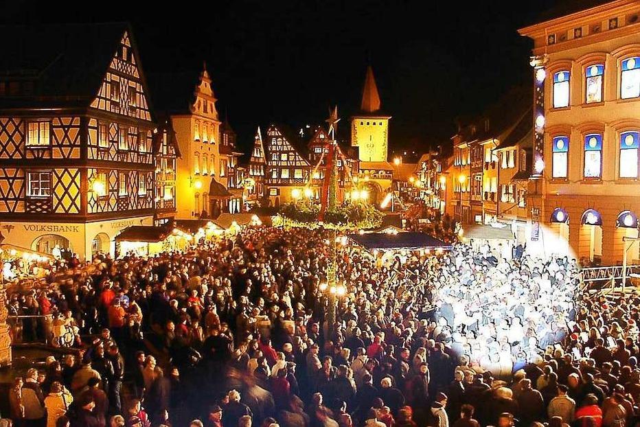 Gengenbacher Adventsmarkt - Badische Zeitung TICKET