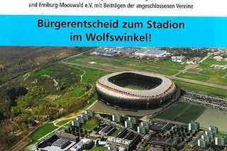 """Soccer City"" Mooswald – Riesenarena in Stadtteilzeitung"