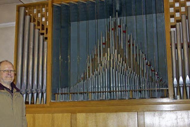 Der warme Klang der Orgel