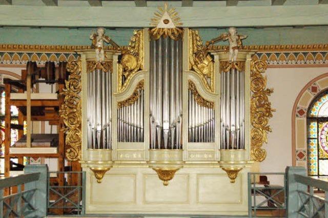 Eine Orgel unter Denkmalschutz