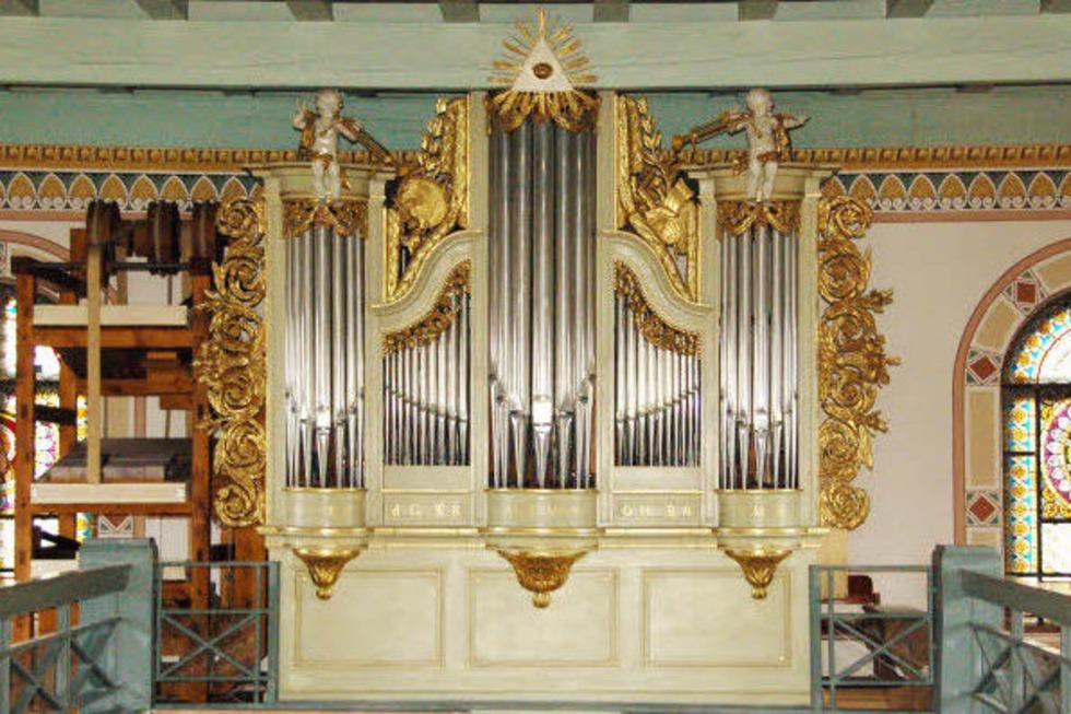Eine Orgel unter Denkmalschutz - Badische Zeitung TICKET