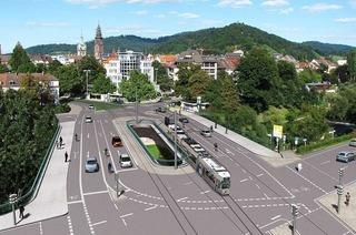 So spektakul�r wird der Abriss der Kronenbr�cke in Freiburg