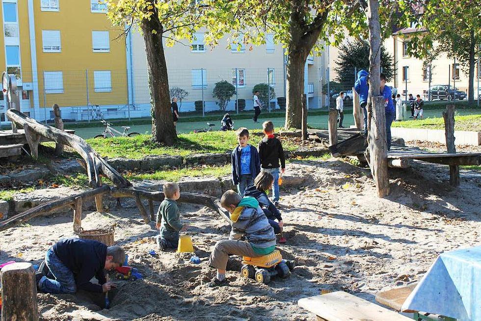 Spielplatz Schwedenstraße - Rheinfelden
