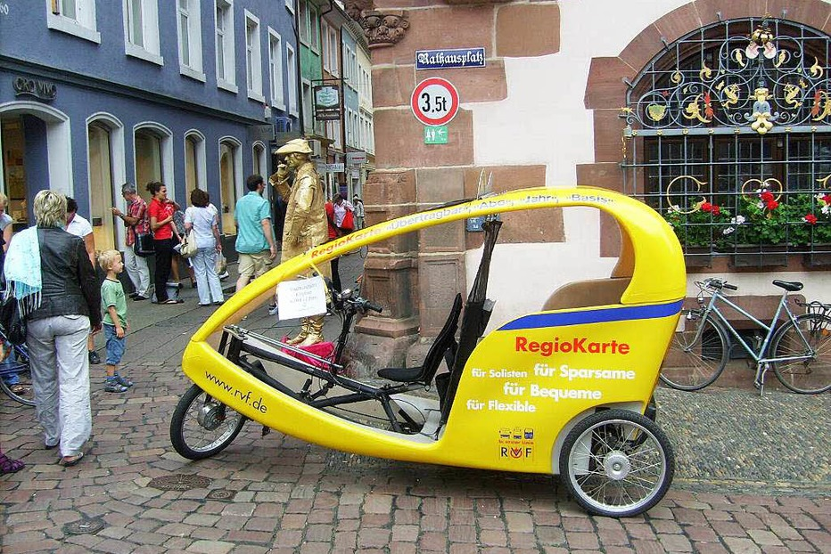 Fahrrad-Taxi - Freiburg