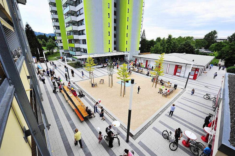 Else-Liefmann-Platz (Weingarten) - Freiburg