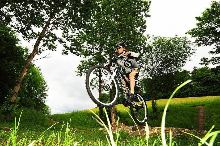 Mountainbike-Parcours Kappel - Freiburg