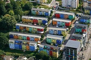 Sonnenschiff Solarsiedlung Freiburg