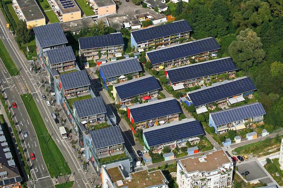 Sonnenschiff Solarsiedlung Freiburg - Freiburg