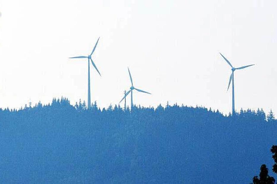 Windkraftanlage Rosskopf - Freiburg