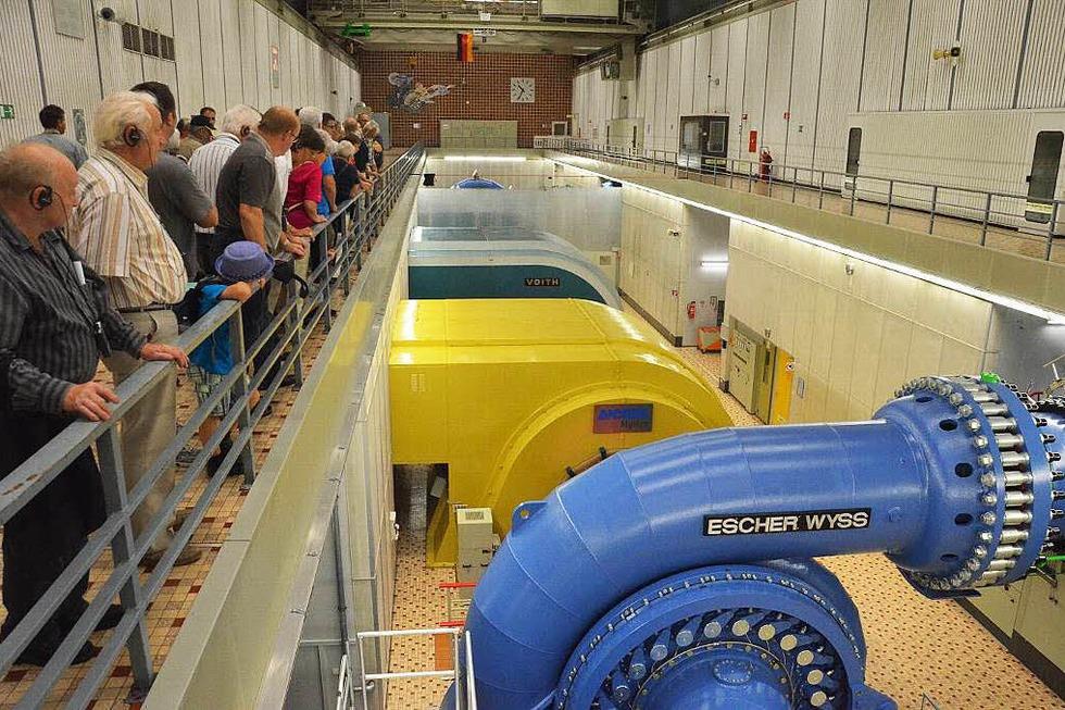 Kavernenkraftwerk (Info-Center) - Bad Säckingen