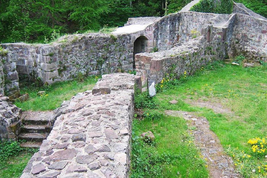 Burgruine Keppenbach - Freiamt