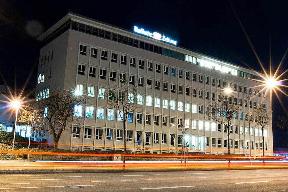 Pressehaus Badische Zeitung - Freiburg