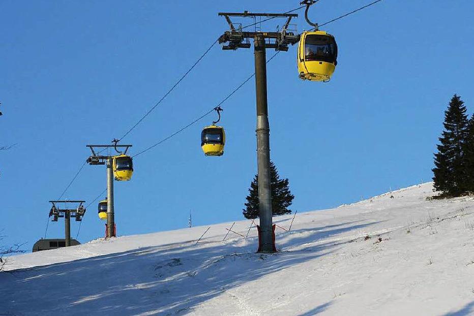 Skigebiet Belchen - Aitern