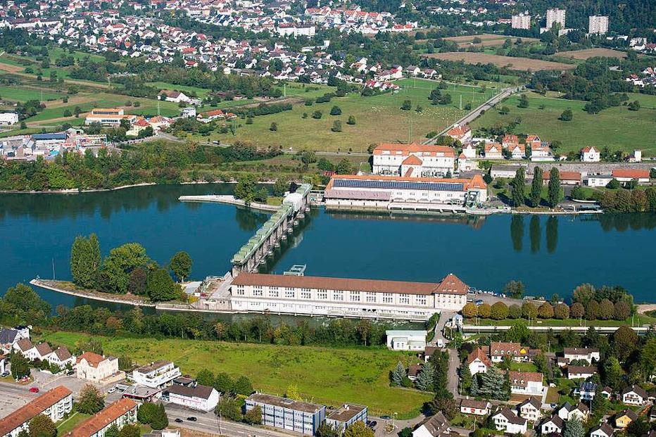 Wasserkraftwerk Wyhlen - Grenzach-Wyhlen