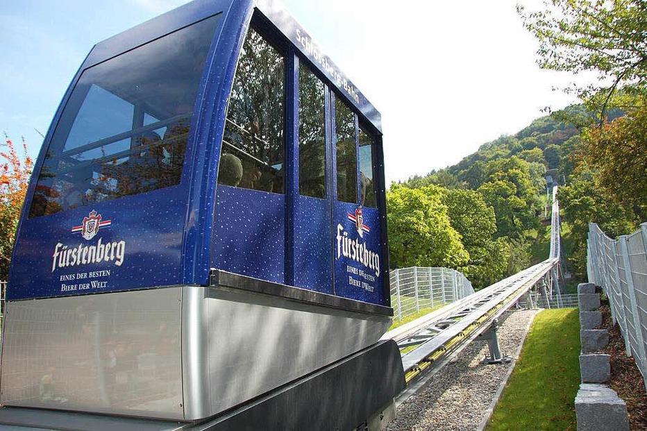 Schlossberg-Bahn - Freiburg
