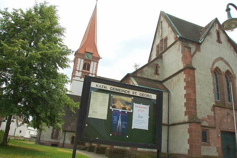 Kath. Kirche St. Georg (Wyhlen) - Grenzach-Wyhlen