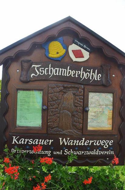 Tschamberh�hle Karsau-Riedmatt (an der B34) - Rheinfelden