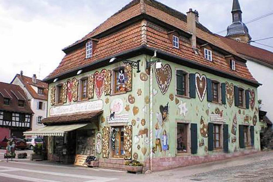 Palast des Lebkuchens - Gertwiller