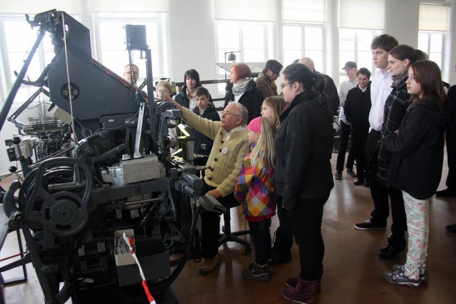 Technisches Museum Linotype (Krafft-Areal Fahrnau) - Schopfheim