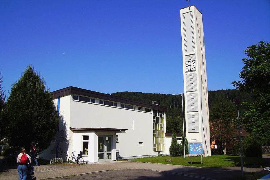 Ev. Matth�uskirche Fahrnau - Schopfheim