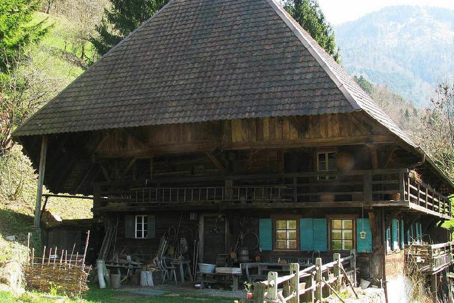 Kaltwasserhof - Schwarzwaldhaus 1902 - Münstertal