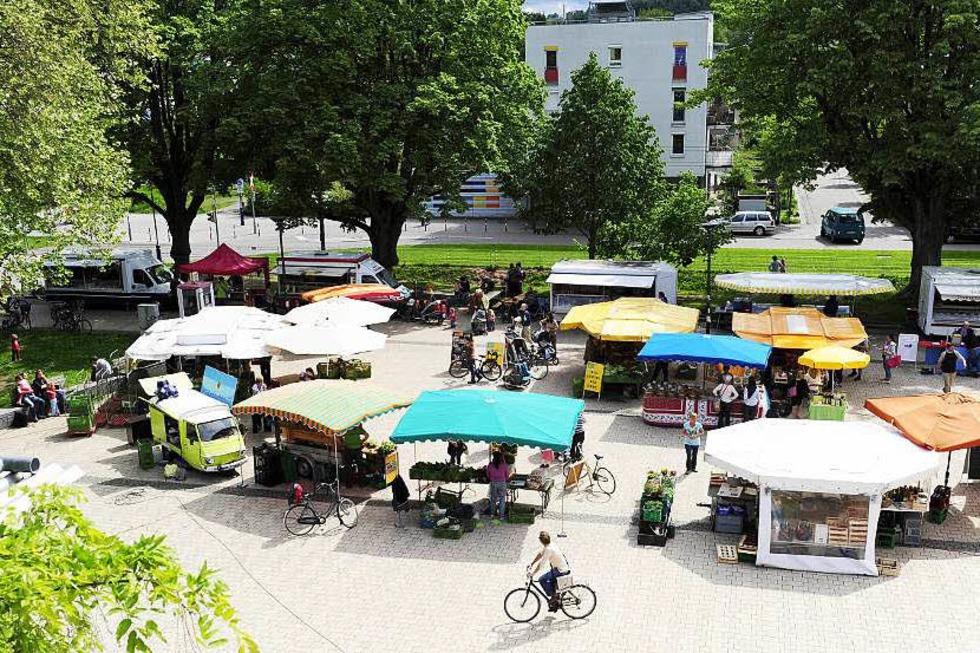 Marktplatz Vauban - Freiburg