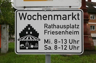 Rathausplatz Friesenheim