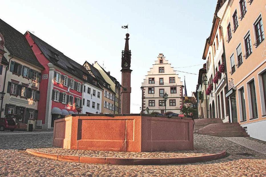 Marktplatz - Endingen