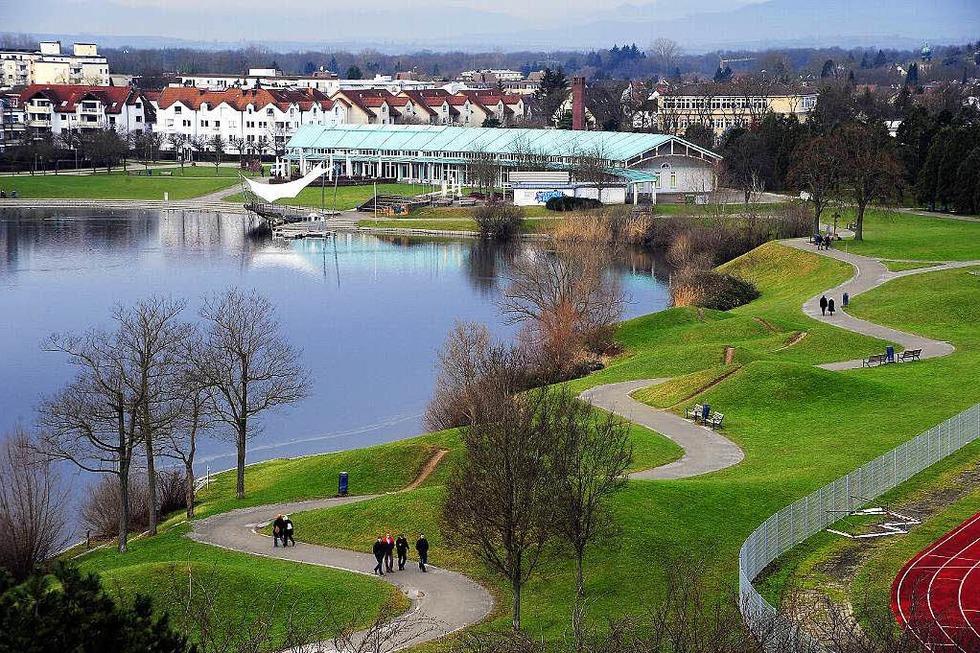 Flückiger See im Seepark - Freiburg