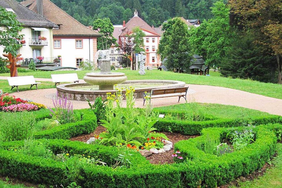 Kräutergarten - St. Blasien