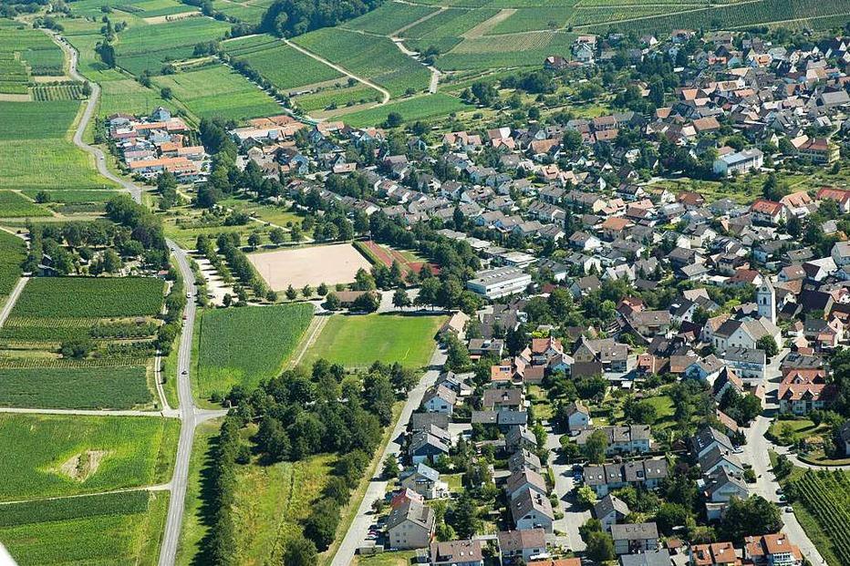 Ortsgebiet - Pfaffenweiler