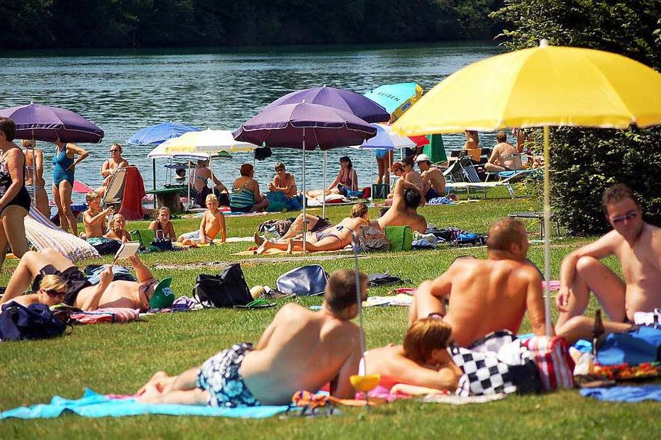 Rheinschwimmbad - Schwörstadt
