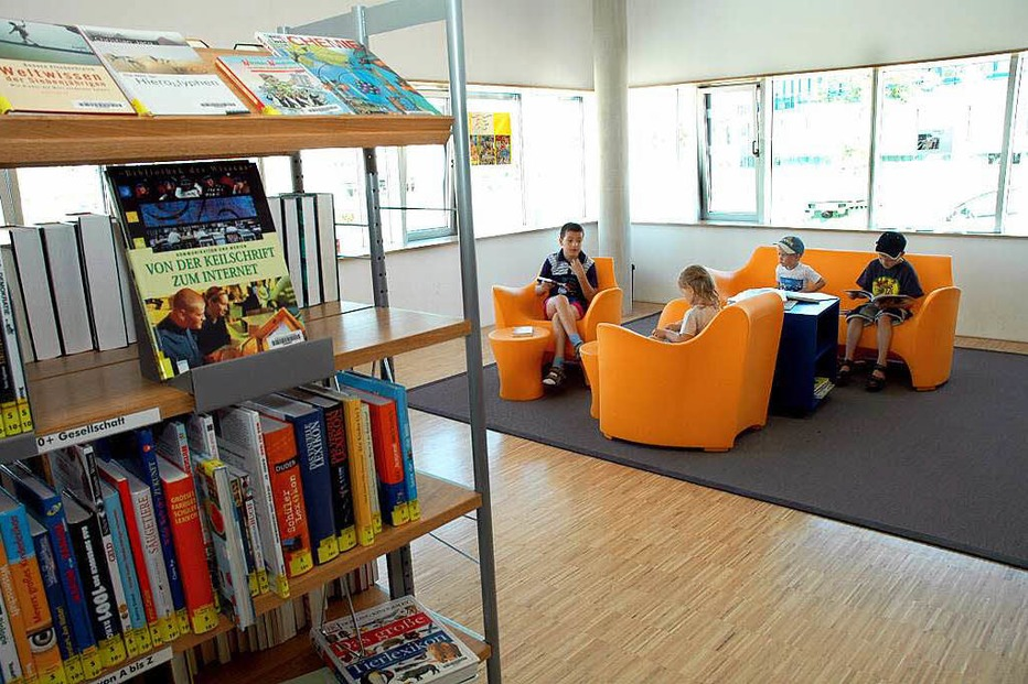Kinder- und Jugendbibliothek Rieselfeld - Freiburg