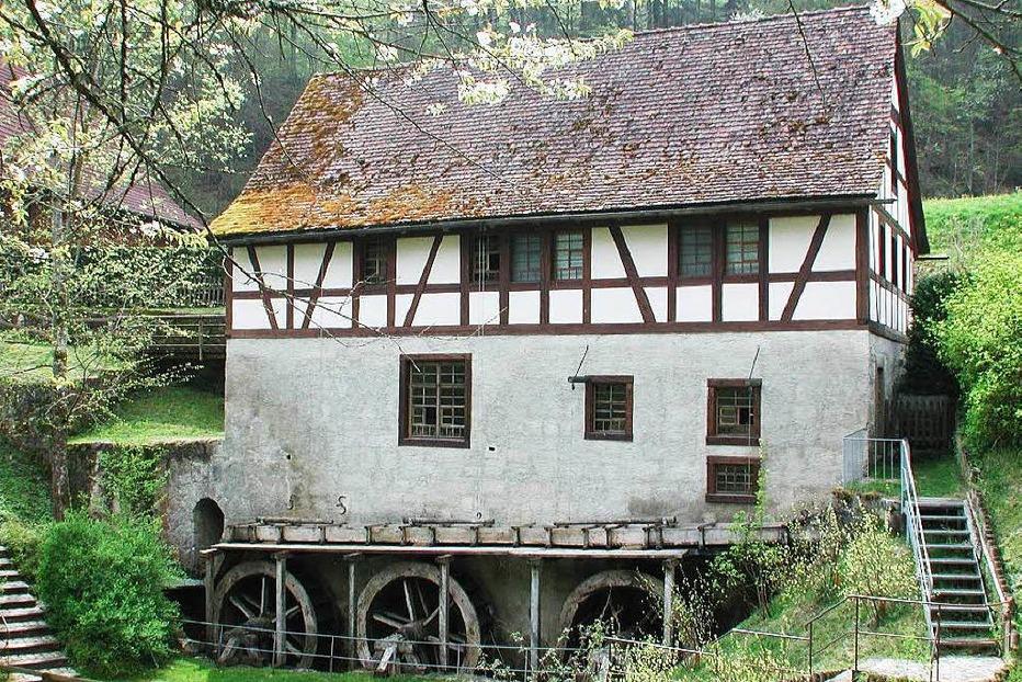 Museumsmühle Blumegg (bei Lausheim) - Stühlingen