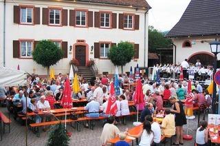 Rathausplatz Obereggenen