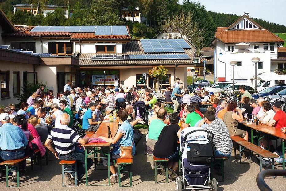 Festplatz neben der Schwarzwaldhalle - Biederbach