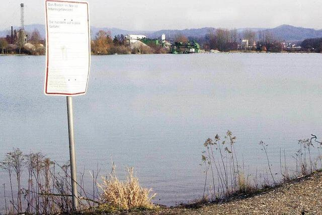 Baggersee Niederschopfheim