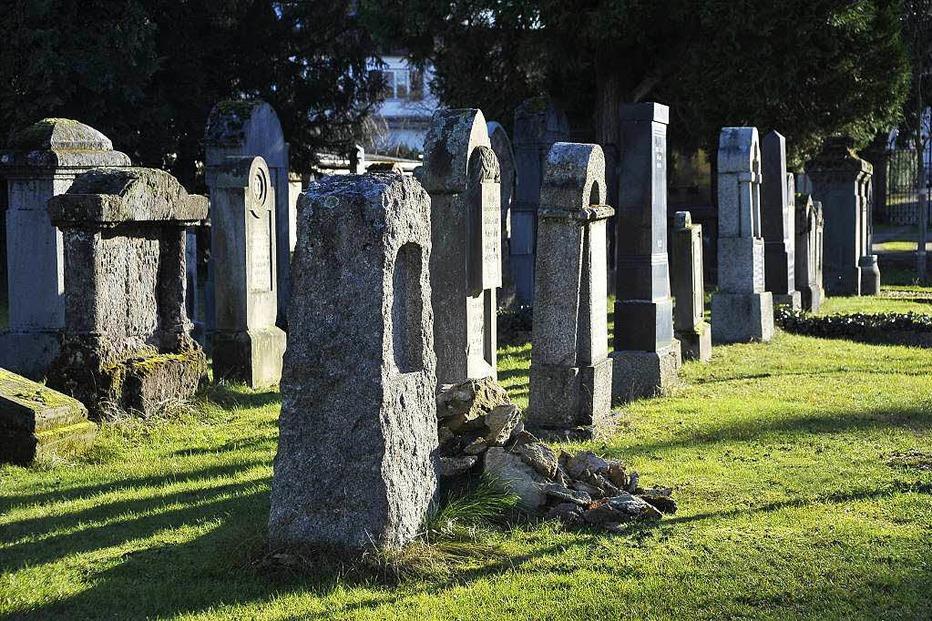 J�discher Friedhof - Freiburg