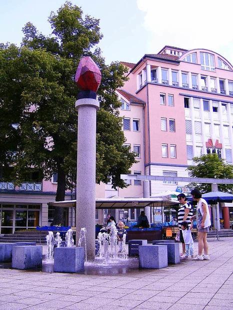 Platz der Z�hringer - Freiburg